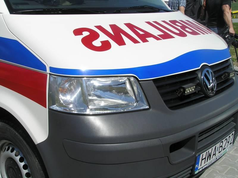 Wypadek w Lubomierzu, pięciu rannych mężczyzn