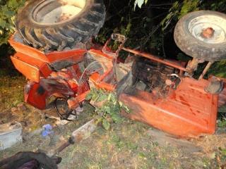 Wypadek w Niecwi. Przygnieciony traktorem