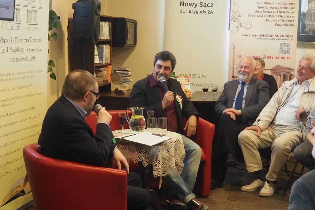 Dni włoskie w Sądeckiej Bibliotece Publiczne w Nowym Sączu