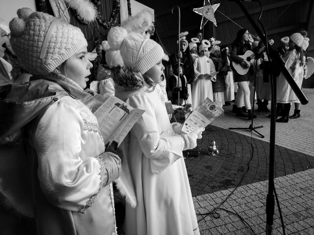 Wspólne śpiewanie kolęd i pastorałek