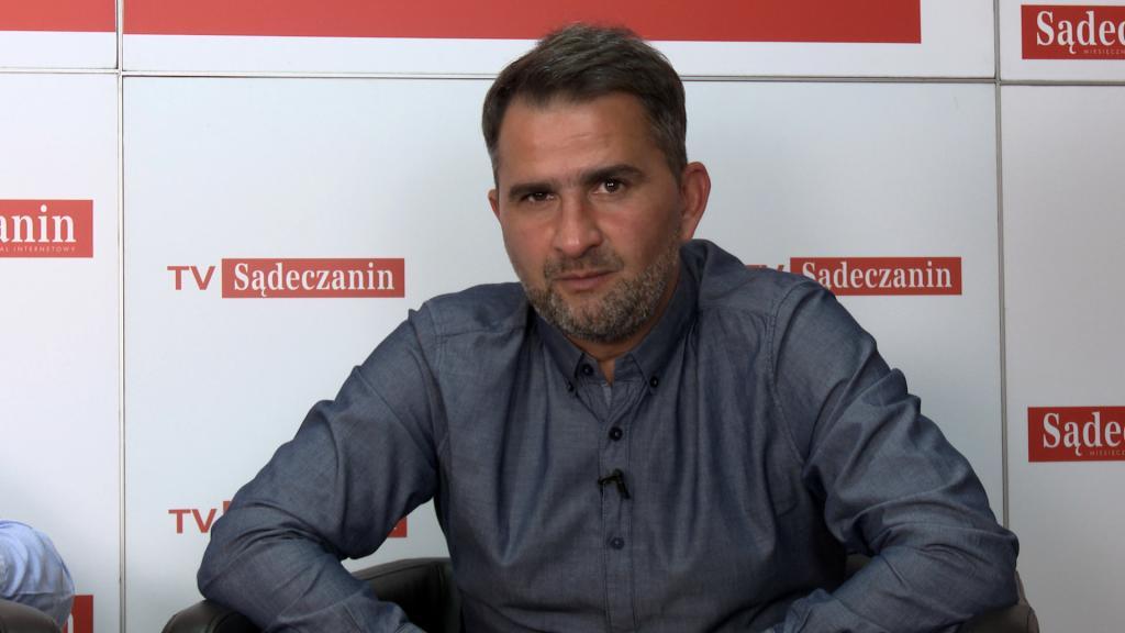 Trener Tomasz Kafarski o Sandecji