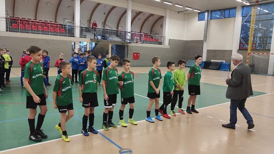 Młodzi zawodnicy z Dunajca Nowy Sącz