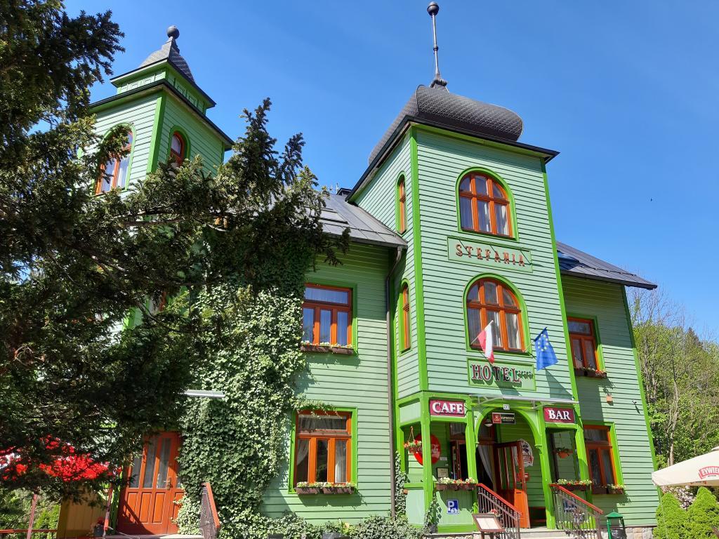 Hotel Stefania w Krynicy-Zdroju