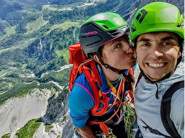 Justyna Kowalczyk i Tomasz Tekieli, fot. Instagram: nartowa.pani