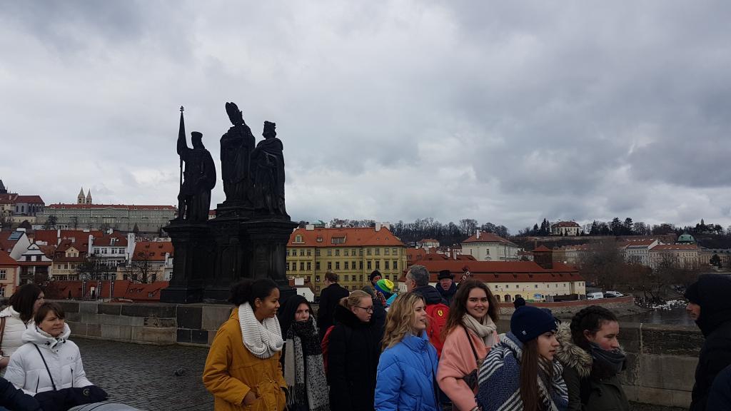 Praga (Czechy) Most Św. Karola. Fot. Sądeczanin