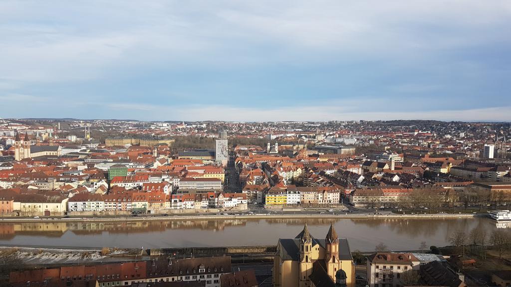Wurdzburg, miasto w Niemczech. Fot. Sądeczanin