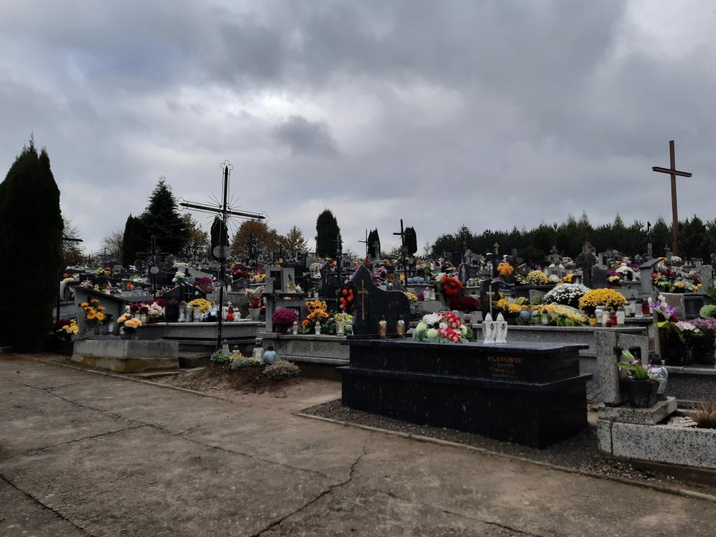 Cmentarz Podegrodzie. Fot. Sądeczanin
