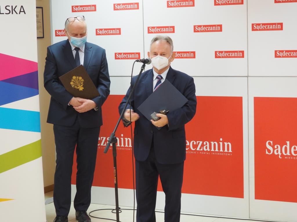 Jan Golba, burmistrz Muszyny.