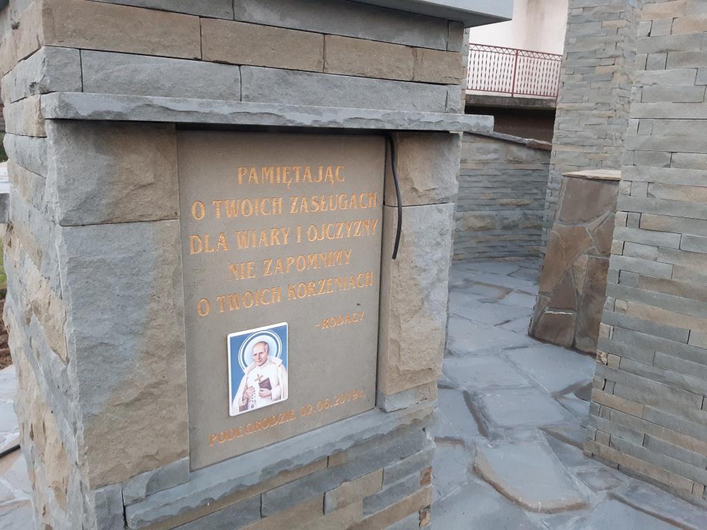 Kapliczka św Papczyńskiego, Podegrodzie. Fot. Sądeczanin