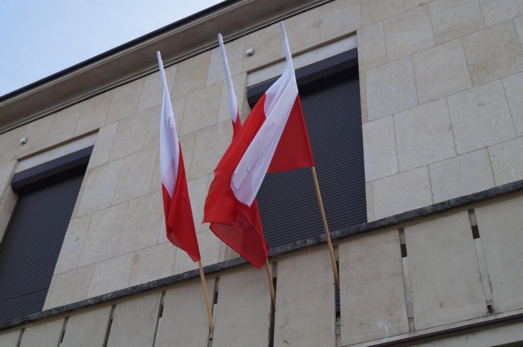 Flaga Polski, Nowy Sącz. Fot. Iga Michalec