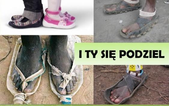 Buty dla Afrykańczyków