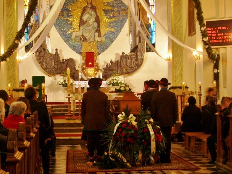 Msza pogrzebowa
