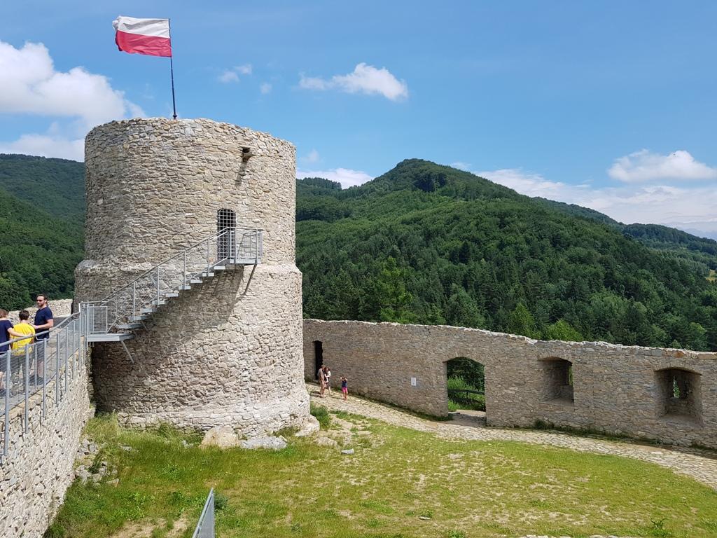 Aktywny Sądeczanin: zamek w Rytrze i najpiękniejszy widok na Dolinę Popradu