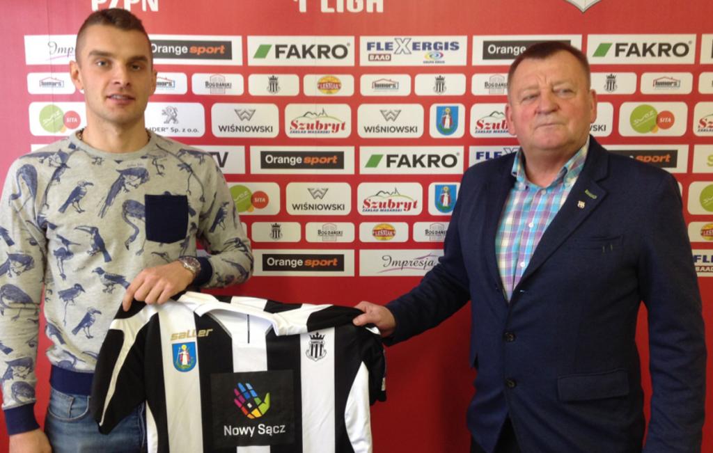 Paweł Ciesielski został nowym prezesem Miejskiego Klubu Sportowego Sandecja i zastąpił tym samym Artura Kapelko