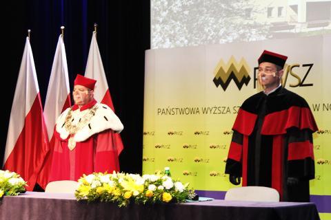 PWSZ: inauguracja roku akademickiego w dobie pandemii pełna optymizmu i nadziei