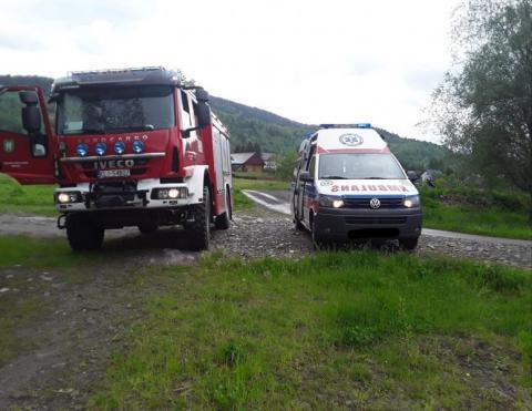 Tragiczna śmierć w płomieniach. Strażacy znaleźli zwęglone zwłoki staruszki