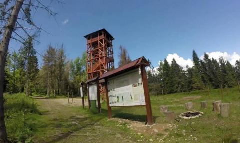Wieża na Eliaszówce: dla takich widoków warto być Aktywnym Sądeczaninem!