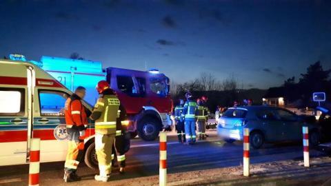 Z ostatniej chwili: wypadek na ul. Tarnowskiej. Droga jest zablokowana