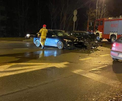 Wypadek za wypadkiem. Najpierw w Limanowej, potem w Lubomierzu