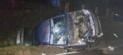 Groźny wypadek w Bieczu. Zderzyły się aż trzy samochody [ZDJĘCIA]