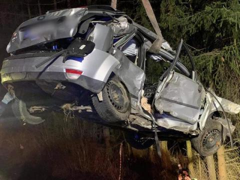 Sprawca wypadku w Starym Sączu pędził 128 km/h. Zginęły dwie nastolatki [FILM]
