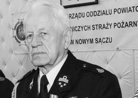 W wieku 88 lat zmarł Józef Gruca. Całym sercem był oddany straży pożarnej