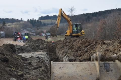 Rusza największa inwestycja w Mostkach. Będzie kanalizacja i wodociąg