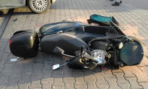 Wypadek za wypadkiem. Najpierw w Rytrze, potem na ul. Węgierskiej