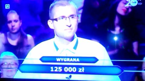 Sądeczanin przepadł w Milionerach na kopulacji wielbłądów, ale wygrał 125 tysięcy złotych