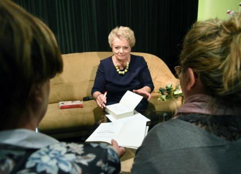 Anna Seniuk na Jesiennym Festiwalu Teatralnym