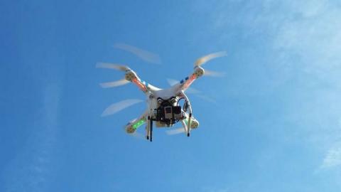 Dron będzie czuwał nad Starym Sączem. Smogowi mówią: nie!