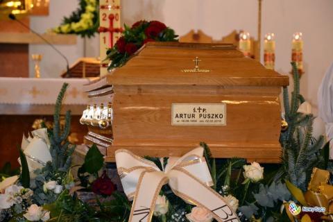 Pogrzeb dyrektora Artura Puszko w Dębicy