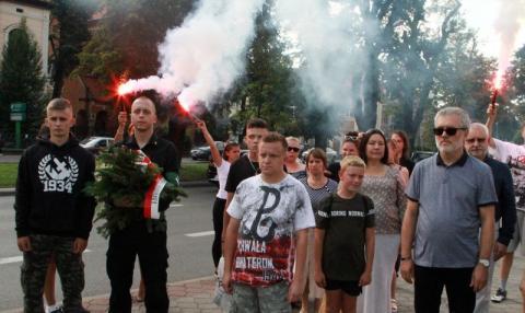 Nowy Sącz pamiętał o 74. rocznicy wybuchu Powstania Warszawskiego [ZDJĘCIA]
