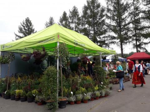 Agropromocja: sądeczanie zachwycali się krzewami Centrum Ogrodniczego Park-M