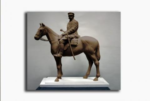 Monument marszałka Józefa Piłsudskiego w Nowym Sączu