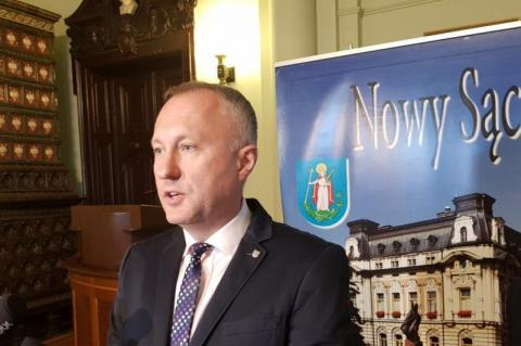 Prezydent Nowego Sącza, fot. Iga Michalec