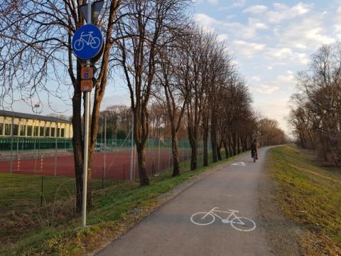 ścieżka EuroVelo11, fot. Iga Michalec