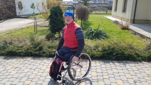 Mistrz świata Robert Wątor ma nowy wózek. To wszystko dzięki Wam [WIDEO]