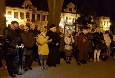 14. rocznica śmierci Jana Pawła II, fot. Iga Michalec