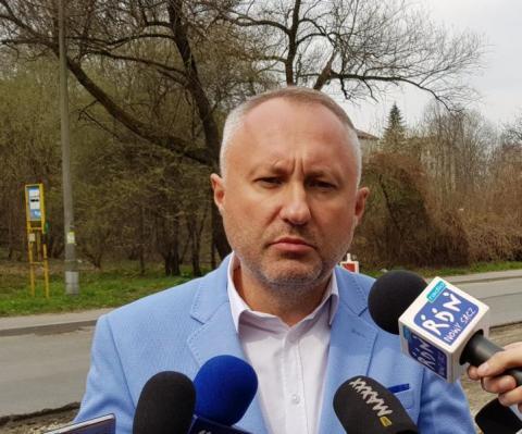 Ludomir Handzel, prezydent Nowego Sącza, fot. Iga Michalec