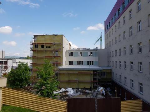 Nowe skrzydło Centrum Onkologii, fot. Iga Michalec