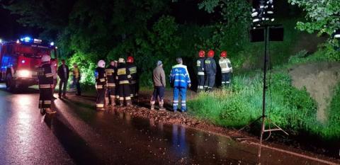 W Szczyrzycu trzeba było ewakuować szpital. Wszystko przez deszcz