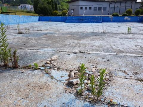 basen otwarty nad Łubinką, fot. Iga Michalec