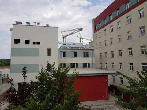 Nowe skrzydło Centrum Onkologii w Nowym Sączu, fot. IM