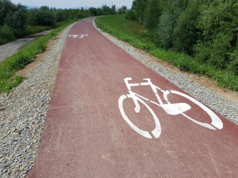 """Podegrodzie z """"górskiej"""" tarczy wybuduje nowe trasy rowerowe"""