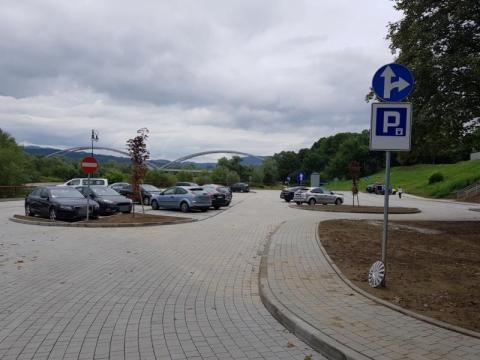 Parking na ul. Romanowskiego otwarty, fot. Iga Michalec