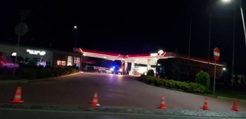 Nowy Sącz: Wozy strażackie nac stacji benzynowej. Co się tam stało?