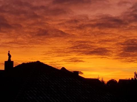 Zachód słońca, fot. Iga Michalec