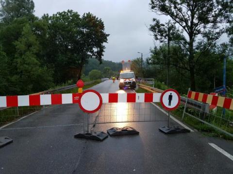 Są środki na naprawę dróg zdewastowanych przez zamknięcie mostu na Kamienicy!