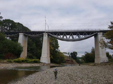 Ten kolejowy most zna cały świat! Idealne na Randkową Mapę Sądecczyzny